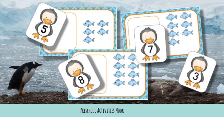 Cute Penguin Free Art Template - Madebyteachers