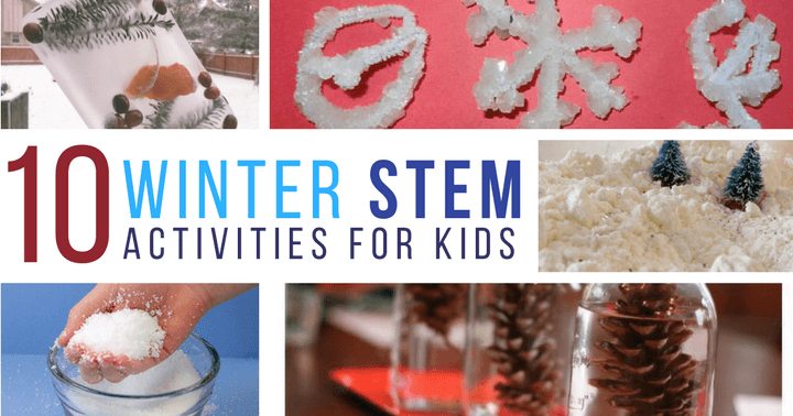 Add these winter STEM activities to your winter learning curriculum for a lot of hands on inspiration in the cold, winter months.