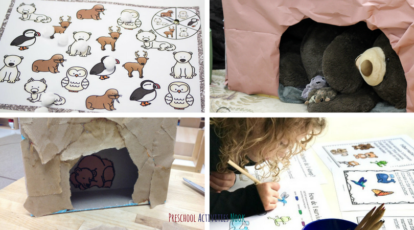 This winter, use this set of learning ideas to help your children learn more about animals in winter. They will enjoy learning about their favorite winter animals with hands-on learning and fun printables.