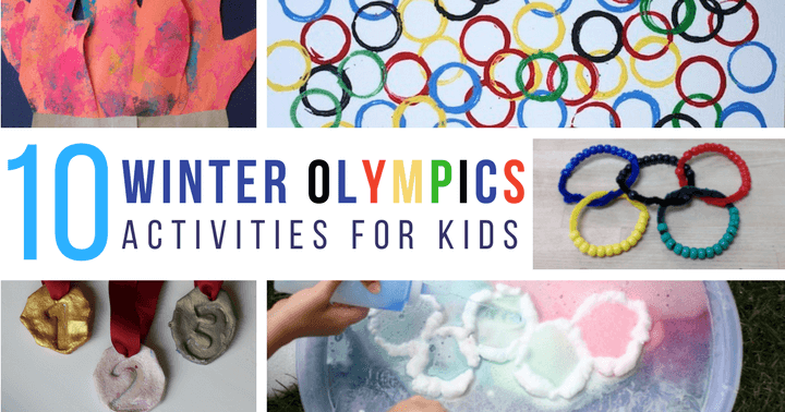 Winter Olympic activities for preschoolers with your kids at home or school for plenty of STEM activities, art projects, and fun crafts!