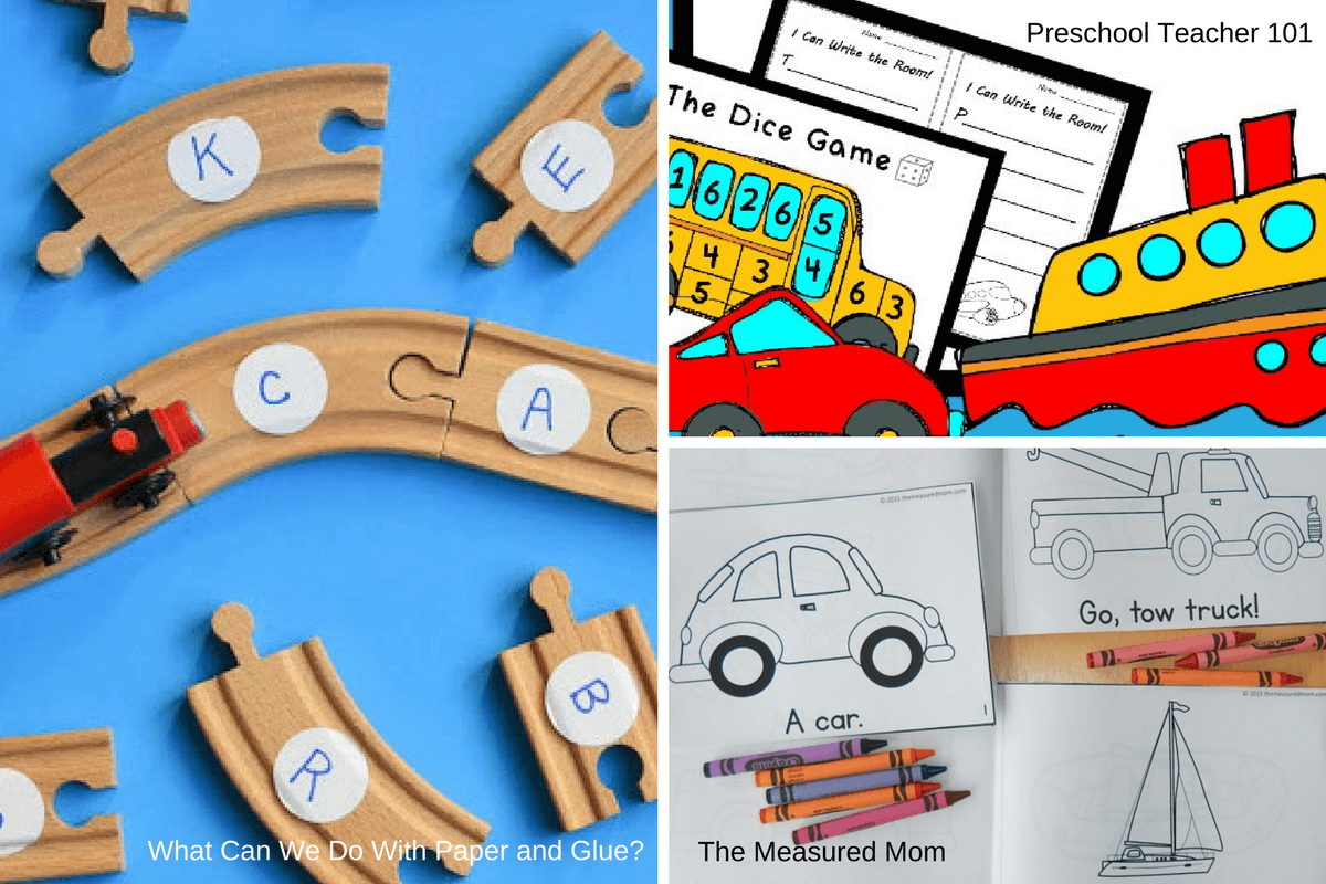 Ideas For A Preschool Transportation Unit Preschool Activities Nook