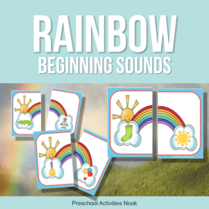 Rainbow Beginning Sounds Matching