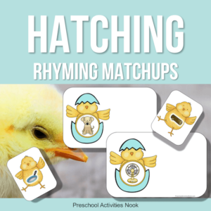 Hatching Eggs rhyming matchups