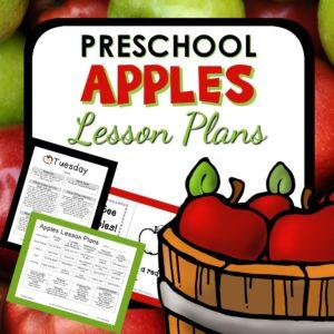 Apple Preschool theme lesson plans from Preschool Teacher 101