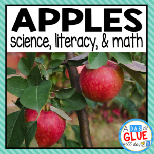 Apple theme science literacy and math