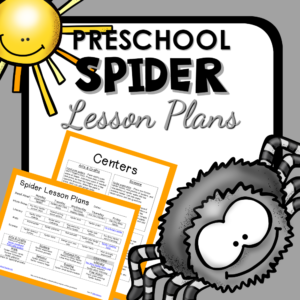 Spider theme lesson plans