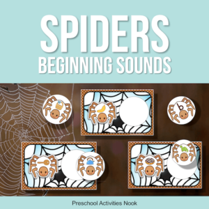Spiders Theme Beginning Sounds