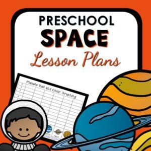 Preschool lesson plans for a space unit