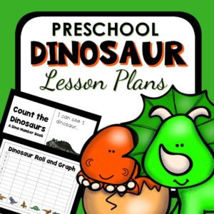 Preschool dinosaur lesson plans
