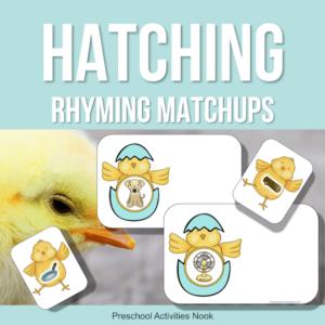 Hatching Eggs rhyming matchups