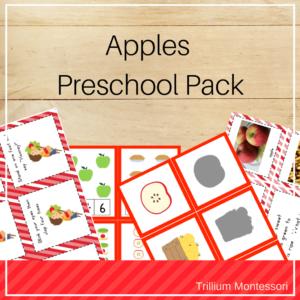 Apple preschool pack